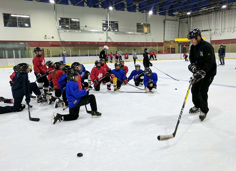 Power skating and hockey skills camps for kids in Nanaimo and Parksville